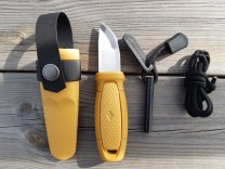Eldris Neck Knife Kit BEIGE- MORA