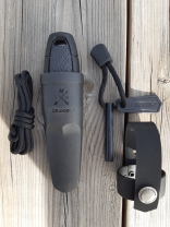 Eldris Neck Knife Kit SVART- MORA