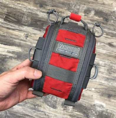 VANQUEST FATPack (First Aid Trauma Pack) RÖD 13X20CM