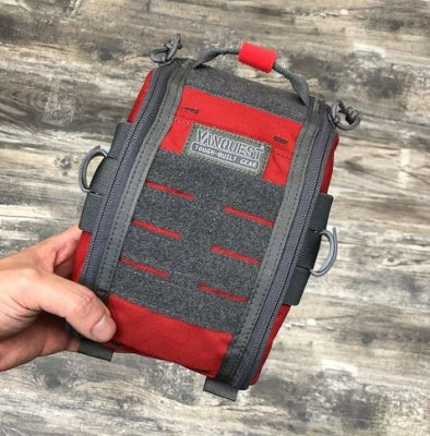 VANQUEST FATPack (First Aid Trauma Pack) RÖD 18X24CM