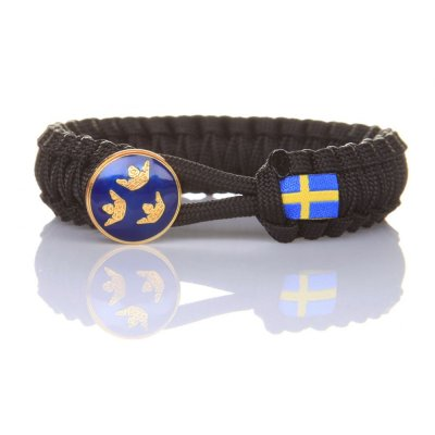 Paracord armband 20cm Nationella Insatsstyrkan-RC